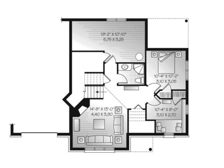 Tiny small craftsman bungalow small craftsman bungalow for Craftsman floor plans with basement