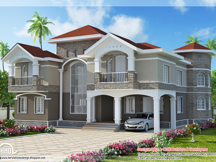 House Plans Flat Roof Designs Home Luxury House Design