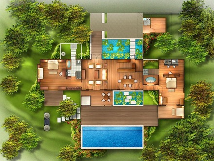 House Plans http://wwwfrombaliwithlovecom/2010/05/tropical house