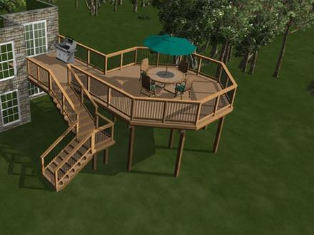 House Plans with Porches House Plans with Second Story Deck