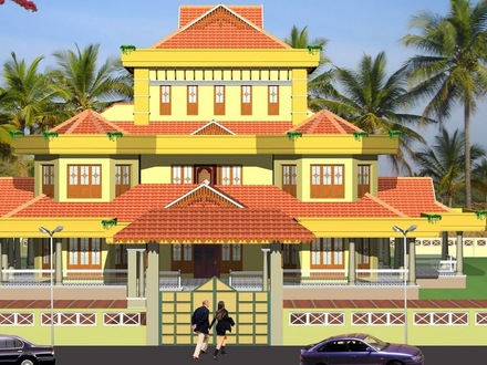 Kerala Traditional House Plans Traditional Southern House Plans
