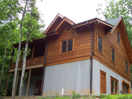 Log home plans with attached garage log home plans with for Log garage apartment plans