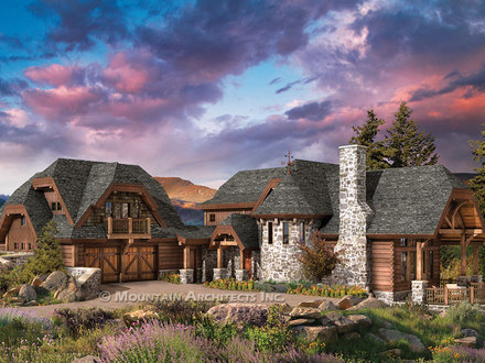 Luxury Custom Log Homes Luxury Log Cabin Home Floor Plans