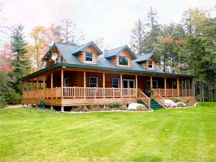 Luxury Log Home Plans Log Home House Plans