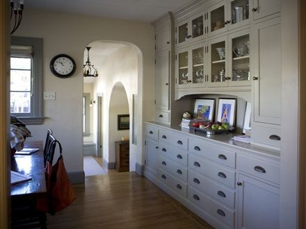 Mission style bungalow hutch Home~Craftsman Style Pinterest Mission Style Student Desk