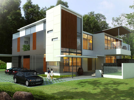 Modern Bungalow House Design Small Lot Modern House Designs