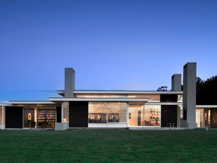 Modern One Story House Designs Modern One Story Ranch House