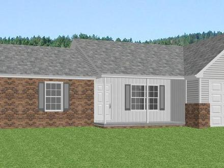 Modern Ranch Style Homes Brick Home Ranch Style House Plans