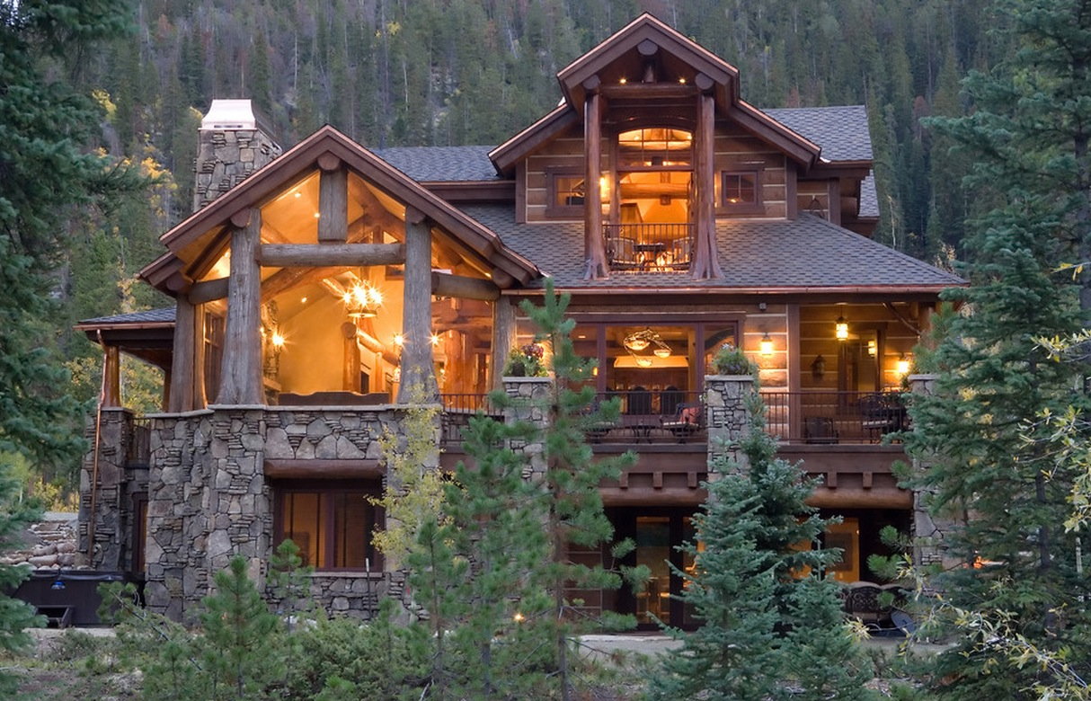 Most beautiful log cabin homes inside a pioneer log cabin for Log home books