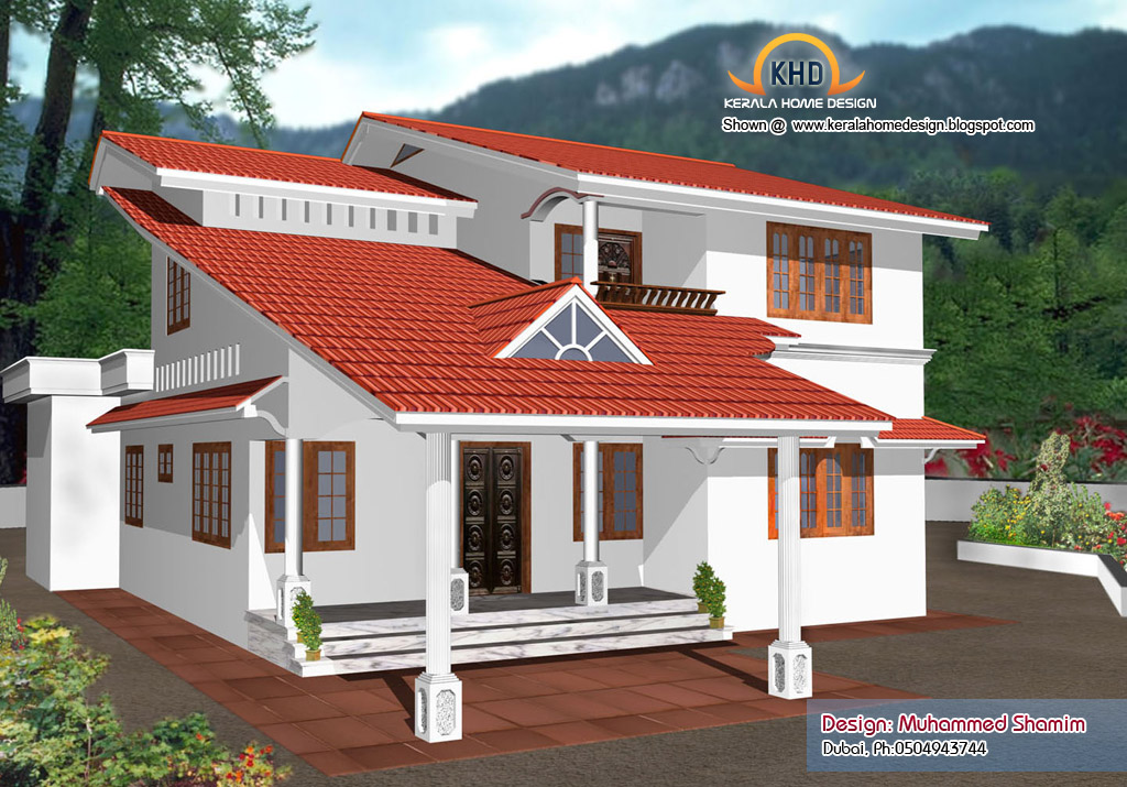 Normal house in kerala kerala house designs and plans new for Normal home plans