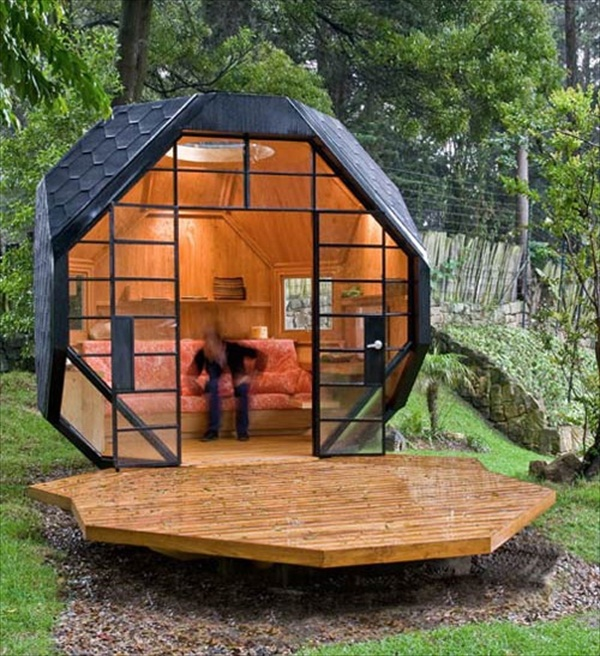 Polyhedron in Real Life Polyhedron House