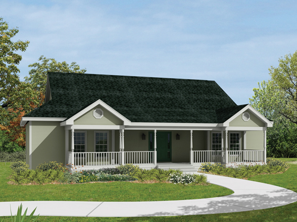 Ranch House Plans with Front Porch Ranch House Plans with Open Floor Plan