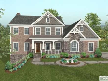 Siding with Brick and Stone House Plans Brick and Siding Homes