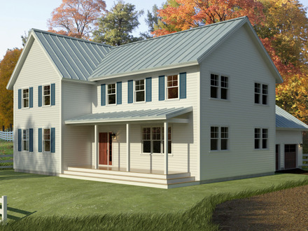 Simple Farmhouse House Plans New England Farmhouse House Plans