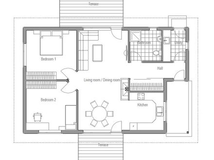 Small Affordable House Plans Simple Small House Floor Plans
