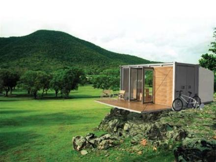 Small Cabin Off-Grid Living Living Off Grid Container Homes