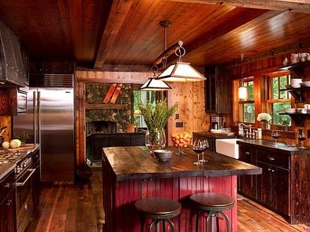 Small Cottage Kitchens Rustic Cottages Kitchens Designs Idea