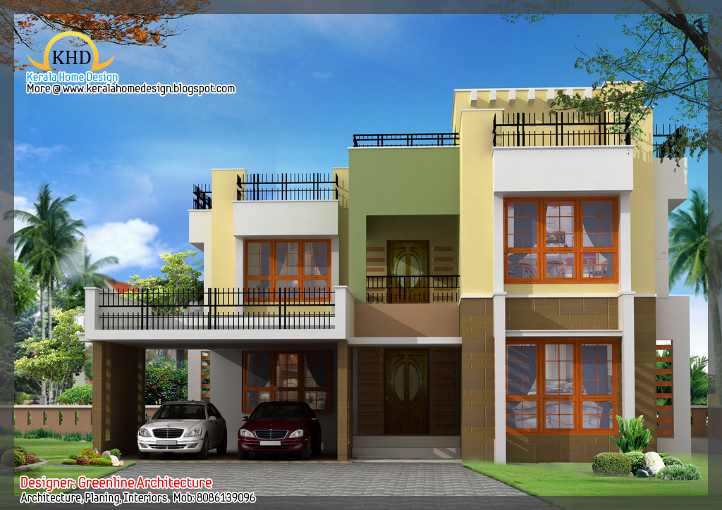 Front Elevation Designer In Bhopal : Small house elevation design simple front of