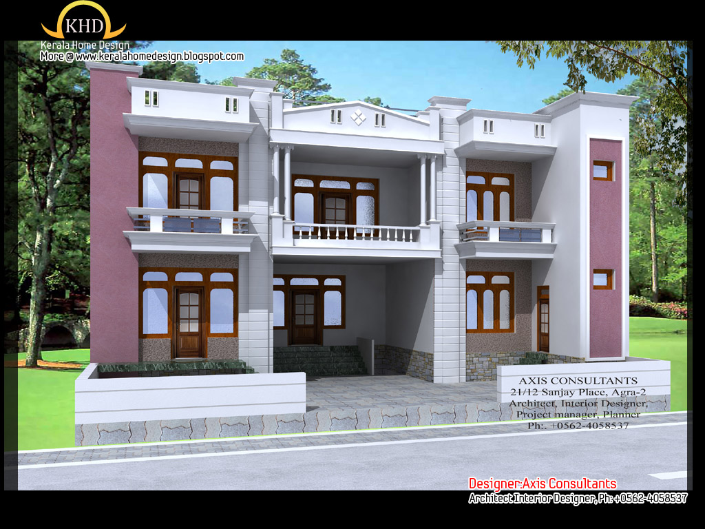 Simple Front Elevation Images : Small house elevation design simple front of