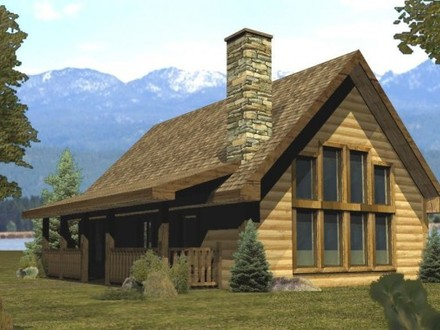 Small Log Cabin House Plans Small Log Cabins and Cottages