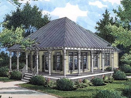 Southern Country Cottage House Plans Southern Living Cottage of the Year