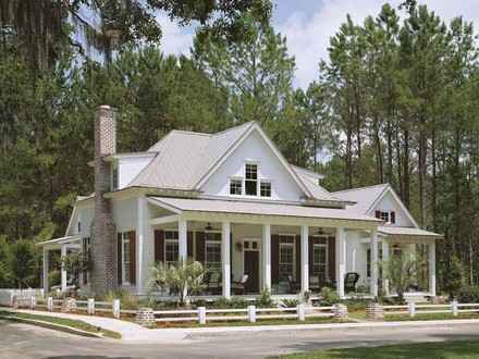Southern Country Cottage House Plans Southern Style Cottages
