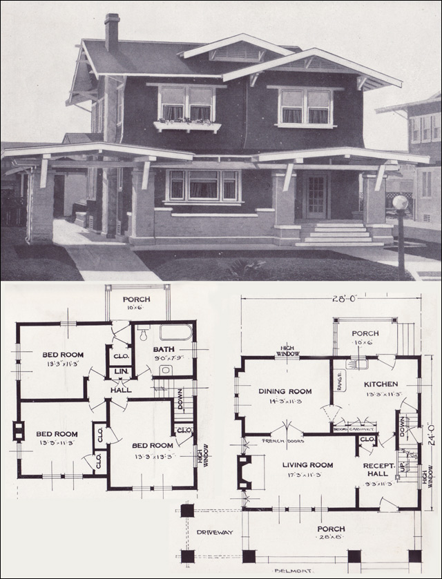 Standard home house plans american standard home plans for American craftsman home plans