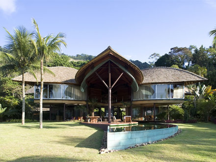 Stunning Leaf House Brazil In Brazil Architecture House
