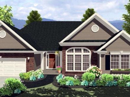Florida mediterranean house plans one story mediterranean for Florida ranch house plans