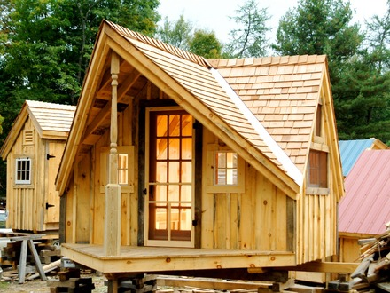 Tiny House On Wheels Small Cabins Tiny Houses Plans