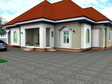 TN 5 Bedroom Bungalow 5 Bedroom Bungalow House Designs