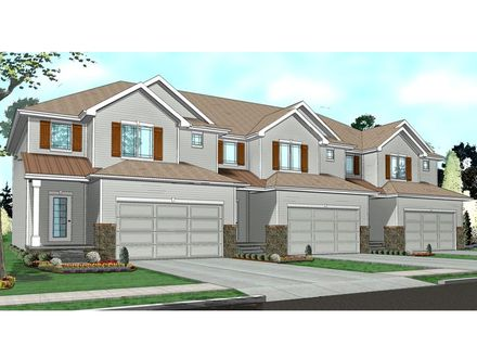 Townhouse with Garage Plans Townhouse Floor Plans 1-Story