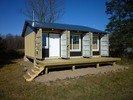 Trailer Shipping Container Home Shipping Container Home Cabin