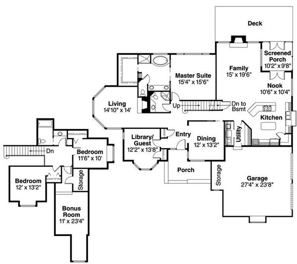 Transitional house floor plans transitional decor for Transitional house plans