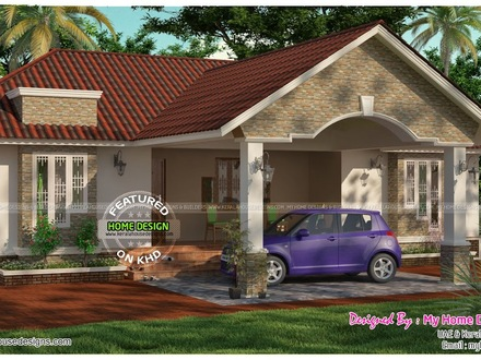 Veedu Single Floor Kerala Single Floor 3 Bedroom House