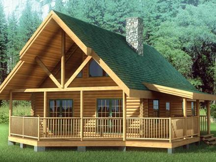 Chalet style homes chalet log home floor plans chalet log for Chalet style home kits