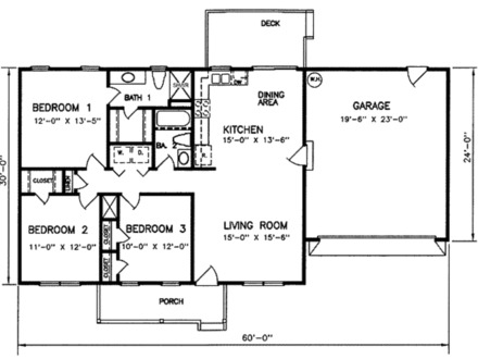 1200 Square Foot House Plans with 3 Bedrooms 1200 Square Foot House Kits