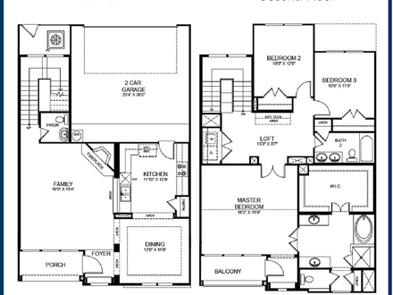 2 bedroom loft apartment floor plan loft appartment 2 for 3 story apartment building plans