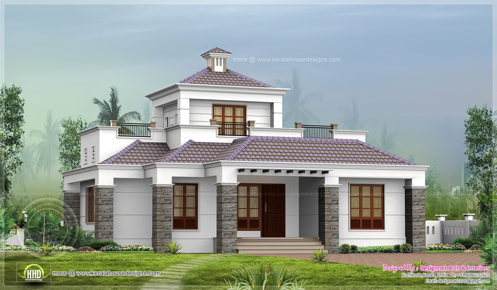 2 Story Modern House Designs Single House Design, 1500 Sq