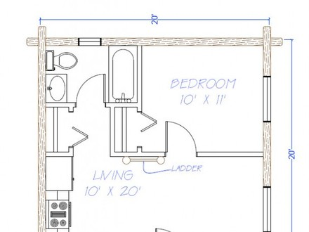 600 Sq Ft House Floor Plans 600 Sq Ft. House Kits
