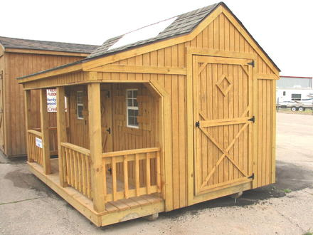 7 by 7 Storage Shed Small Portable Storage Shed