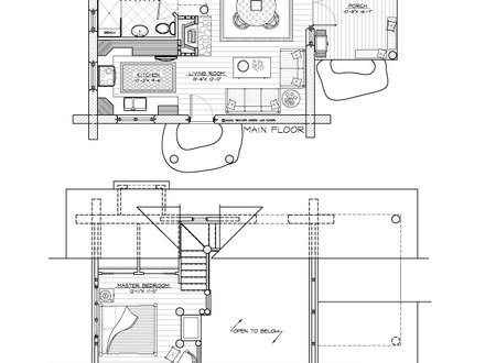 Small camping cabin plans small wilderness cabin plans for Camp floor plans