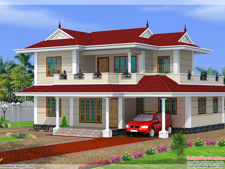 Beautiful Double Storey House Plans Double Storey House Design