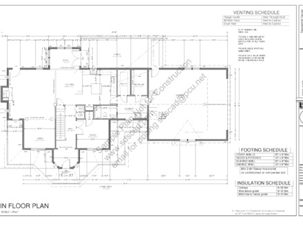 Blueprint Construction House Plan Construction Blueprint Samples