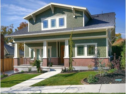 Bungalow Home Exterior Designs One Story Ranch Home Exterior