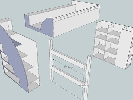 Cabin Bunk Beds Cabin Bed Plans, all pictures by Stuart Tavener