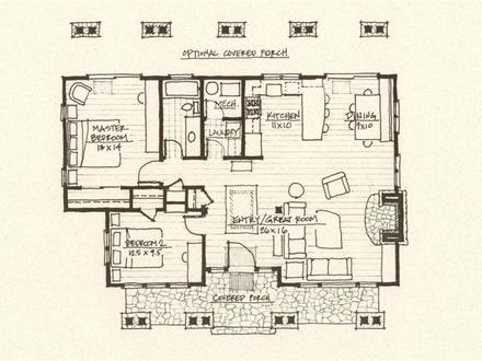 Cabin Floor Plan Mountain Cabin Floor Plans