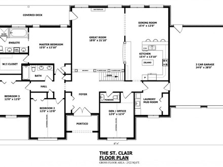 Canadian Home Designs Floor Plans Custom Home Designs