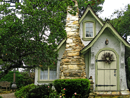 Carmel Fairytale Cottage English Cottage in the Woods