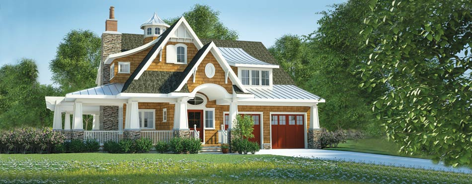 Coastal cottage house plans bungalow cottage home plans for Coastal craftsman house plans